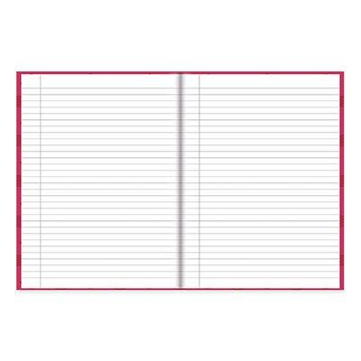 Caderno Universitário capa dura costurado 96fl Turma da Mônica 20742 Spiral Tdm PT 1 UN