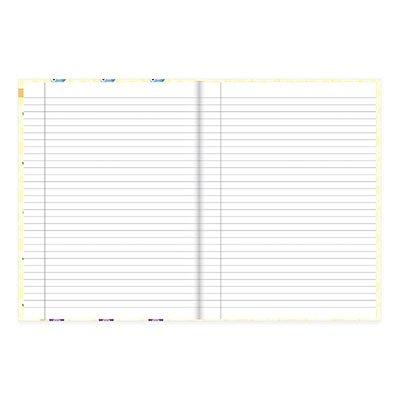 Caderno Universitário Capa Dura costurado 96fl Corujinhas 20716 Spiral Cor PT 1 UN