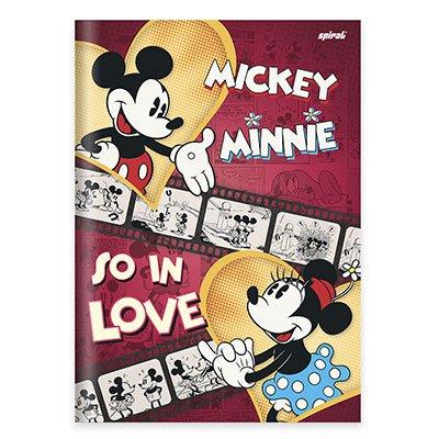 Caderno univ. capa dura costurado 96fl M. Minnie 20718 Spiral Dm PT 1 UN