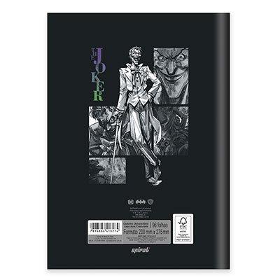 Caderno univ. capa dura costurado 96fl Joker 20726 Spiral Jok PT 1 UN