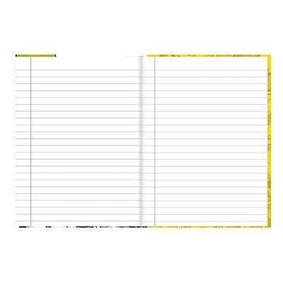 Caderno 1/4 capa dura costurado 48fls T. Mônica 20839 Spiral Tdj PT 1 UN