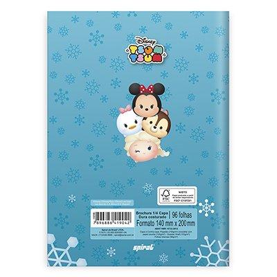 Caderno 1/4 capa dura costurado 96fls TsumTsum 20846 Spiral Tsum PT 1 UN