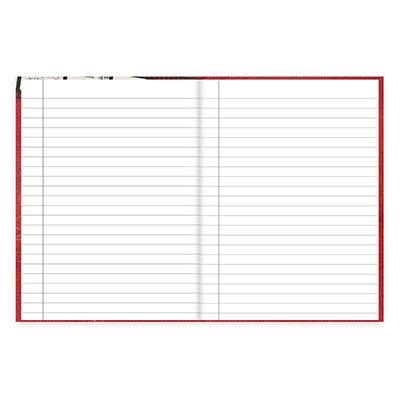 Caderno 1/4 capa dura costurado 96fls Minnie 20844 Spiral Dm PT 1 UN
