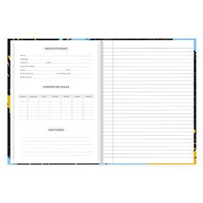 Caderno univ. capa dura costurado 96fl Marvel E 20710 Spiral Mve PT 1 UN