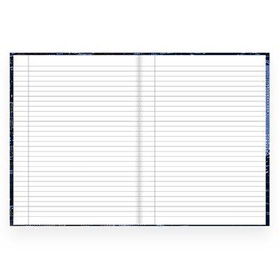 Caderno universitário capa dura brochura costurado 80 folhas Nerf 212249 Spiral PT 1 UN