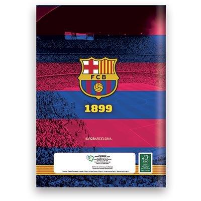 Caderno 1/4 capa dura costurado 48fls Barcelona 06913 Spiral Bc PT 1 UN
