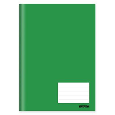 Caderno universitário capa dura costurado 96fls verde 64596 Spiral PT 1 UN
