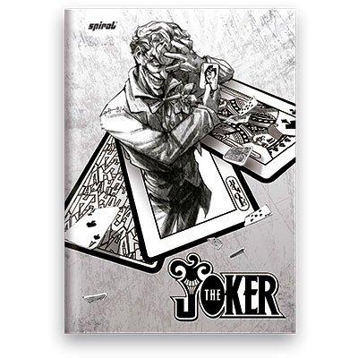 Caderno Universitário Capa Dura Costurado 96fl Joker 02532 Spiral Jok PT 1 UN