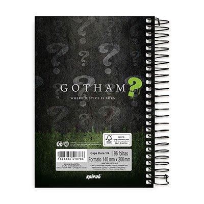 Caderno 1/4 espiral capa dura 96fls Gotham 20766 Spiral Gth PT 1 UN