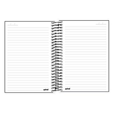Caderno 1/4 espiral capa dura 96fls X Box 20780 Spiral Xbox PT 1 UN