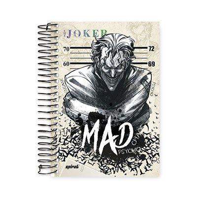 Caderno 1/4 espiral capa dura 96fls Joker 20765 Spiral Jok PT 1 UN