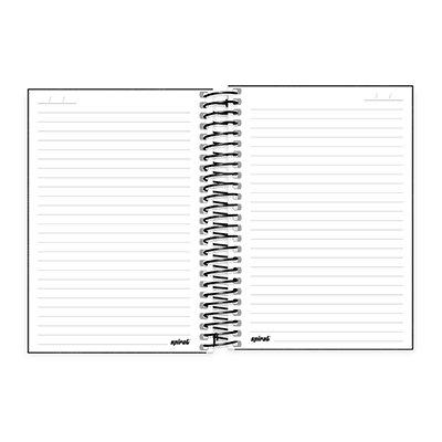 Caderno 1/4 espiral capa dura 200fls Playstation 20802 Spiral Ps PT 1 UN