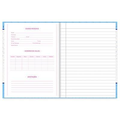 Caderno 1/4 capa dura costurado 96fls My Pet 20857 Spiral Pet PT 1 UN