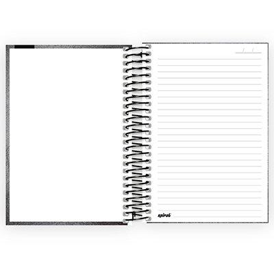 Caderno 1/4 espiral capa dura 80fls Playstation 211295 Spiral Ps PT 1 UN