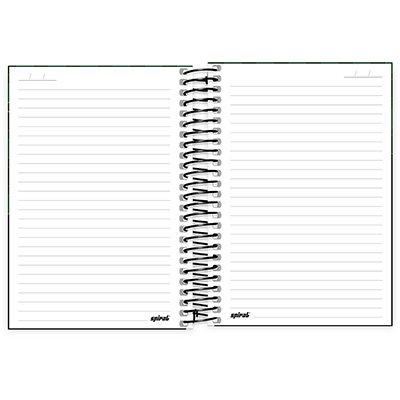 Caderno 1/4 espiral capa dura 160fls Xbox 211411 Spiral Xbox PT 1 UN
