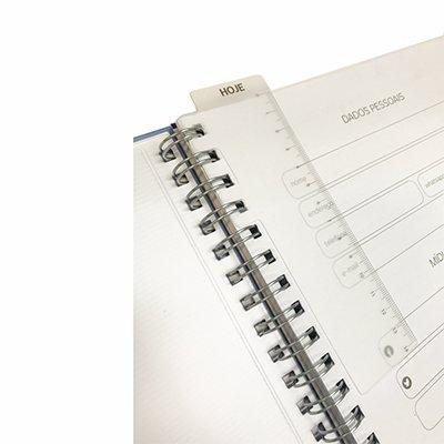 Agenda Planner semanal 96fl 16,8x24cm Matra preto Pombo PT 1 UN