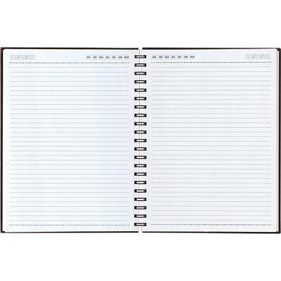 Caderno executivo 208fl 20,1x27,5cm Matra café 62904-074 Pombo PT 1 UN