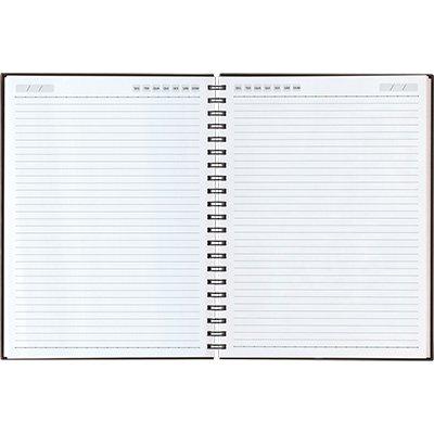 Caderno executivo 208fl 20,1x27,5cm Matra verm. 62904-568 Pombo PT 1 UN