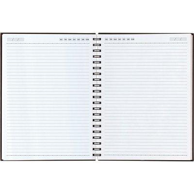 Caderno executivo 208fl 20,1x27,5cm Matra lilás 62904-573 Pombo PT 1 UN