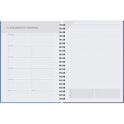 Agenda Planner semanal Pombo Collore 96 folhas 16,8x24cm rosa - 725VC-001 PT 1 UN