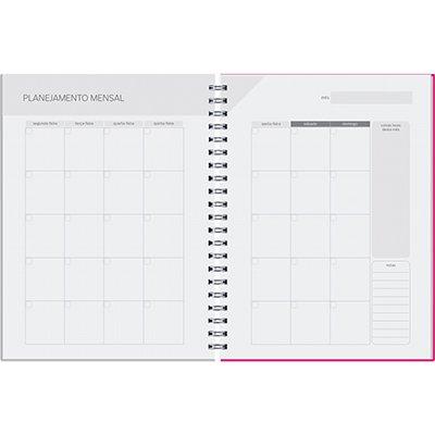 Agenda Planner semanal Pombo Collore 96 folhas 16,8x24cm triangulos - 725VC-014 PT 1 UN