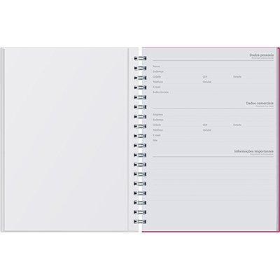 Caderno executivo 96fl 16,8x24cm Viva amarelo 625VC-019 Pombo PT 1 UN
