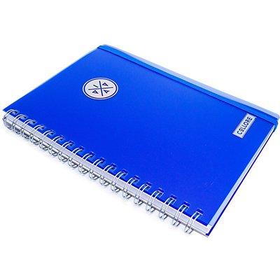 Caderno executivo 96fl 16,8x24cm Viva azul 625VC-027 Pombo PT 1 UN