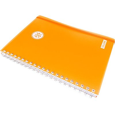 Caderno executivo 96fl 20,3x27,5cm Viva laranja 622VC-020 Pombo PT 1 UN