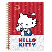 Caderno univ.capa dura 10x1 200fl H. Kitty 20396 Spiral Hki PT 1 UN