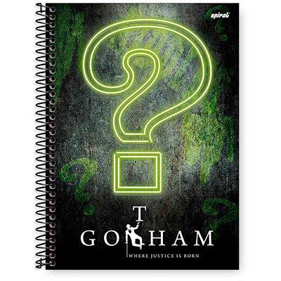 Caderno Universitário Capa Dura 1x1 96 fls Gothan 20274 Spiral Gth  PT 1 UN