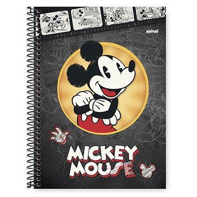 Caderno Universitário Capa Dura 1x1 96 fls Mickey Minnie 20255 Spiral Dm  PT 1 UN
