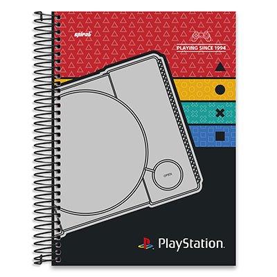 Caderno Universitário Capa Dura 10x1 200fl Playstation 20504 Spiral Ps PT 1 UN