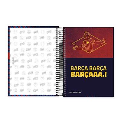 Caderno Universitário Capa Dura 10x1 200fl Barcelona 20429 Spiral Bc PT 1 UN