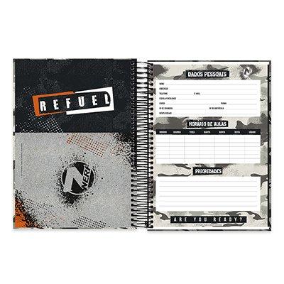 Caderno Universitário capa dura 20x1 400fl Uncharted 20699 Spiral Unc PT 1 UN