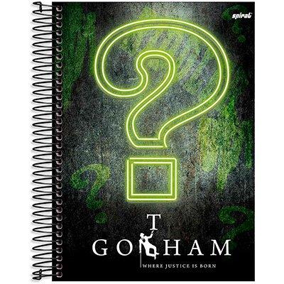 Caderno Universitário capa dura 20x1 400fl Gotham 20652 Spiral Gth PT 1 UN