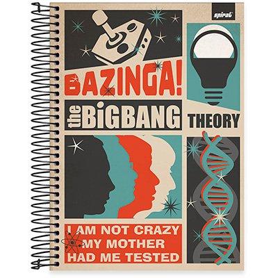 Caderno Universitário capa dura 20x1 400fl Big Bang 20695 Spiral Big PT 1 UN