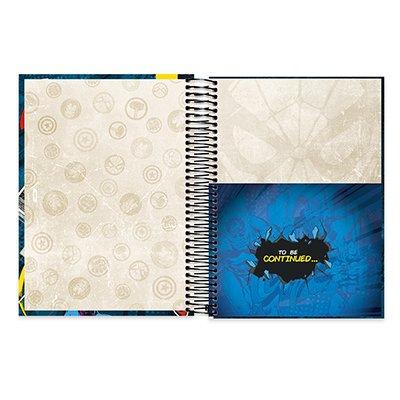 Caderno univ.capa dura 20x1 400fl C. América 20673 Spiral Mv PT 1 UN