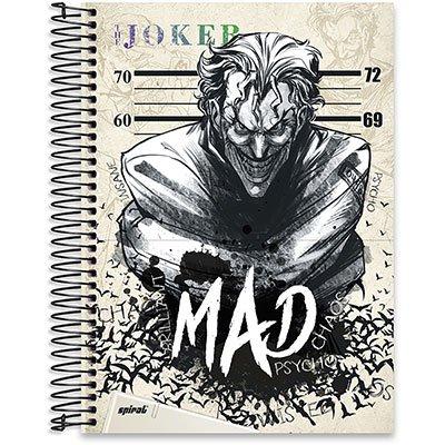 Caderno Universitário capa dura 20x1 400fl Joker 20662 Spiral Jok PT 1 UN