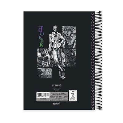Caderno Universitário capa dura 20x1 400fl Joker 20663 Spiral Jok PT 1 UN