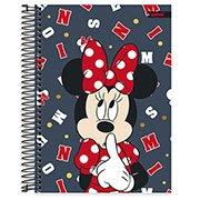 Caderno universitário capa dura 15x1 240 folhas Disney Minnie Clássico 212196 Spiral PT 1 UN