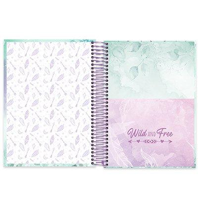 Caderno universitário capa dura 10x1 160 folhas Dreams 211837 Spiral PT 1 UN