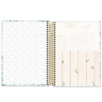 Caderno universitário capa dura 10x1 160 folhas Femmina Verde 211842 Spiral PT 1 UN