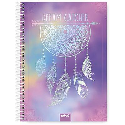 Caderno univ.capa dura 1x1 96 fls Dreams 20334 Spiral Dms PT 1 PT