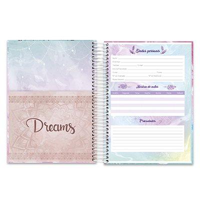 Caderno univ.capa dura 20x1 400fl Dreams 20682 Spiral Dms PT 1 UN