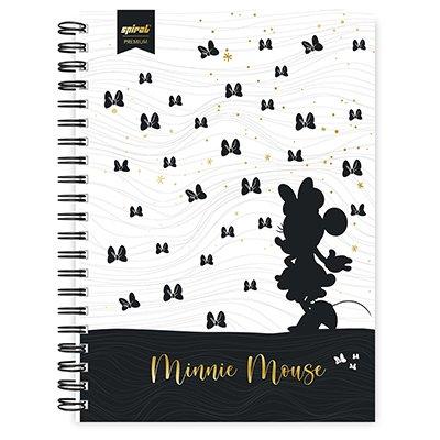 Caderno universitário capa dura 1x1 80 folhas Disney Minnie PB 211556 Spiral PT 1 UN