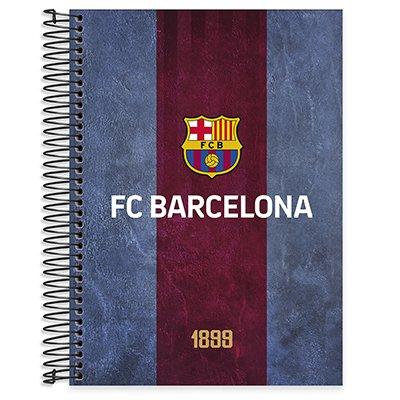 Caderno universitário capa dura 10x1 160 folhas Barcelona 211812 Spiral PT 1 UN