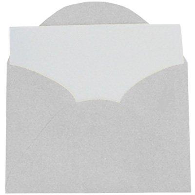 Envelope visita 115x80 branco + cartão branco 4421 Romitec CX 20 UN