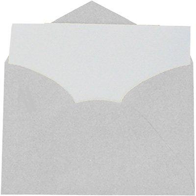 Envelope comercial 114x162 diamante + cartão branco 4537R Romitec CX 20 UN