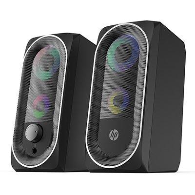 Caixa de som 6w, Preta RGB, DHE-6001, 8YJ92AA, HP - CX 1 UN