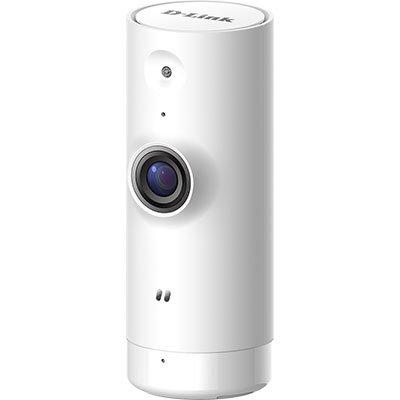 Câmera de Segurança IP Wi-Fi HD 720p com Visão 120º graus e Gravação em Nuvem DCS-8000LH - D-Link CX 1 UN